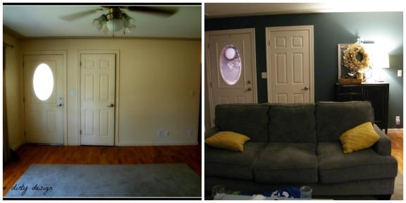 collage front door wall